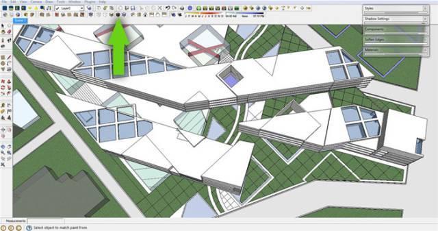 干货 SketchUp+photoshop快速渲染制作建筑景观效果图教程_3