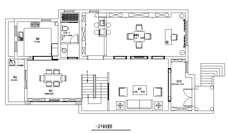 [江苏]新古典主义500平米联体别墅设计施工图(附效果图)