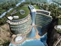 世茂深坑酒店总体结构设计-汪大绥