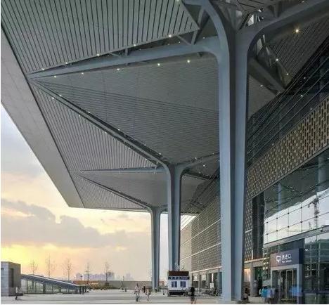 结构单元体与空间塑造,从国内几个高铁站的设计说起_6
