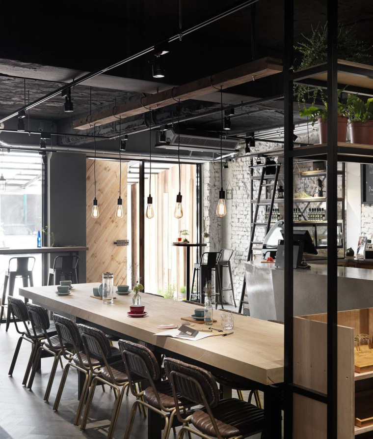 台湾工业风格咖啡馆-5
