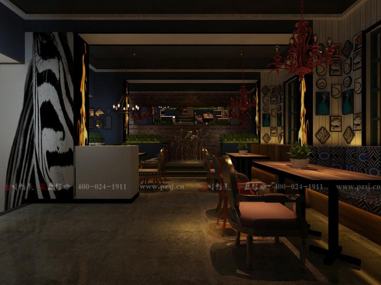 [休闲吧设计]沈阳市中山路热情的斑马艺术休闲吧项目设计-8.jpg