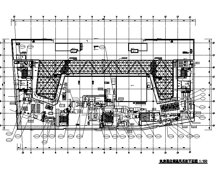 江苏澄星大厦全套暖通空调设计施工图