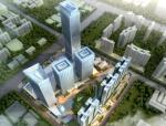 [广东]220米独立高塔绿地商业综合体建筑方案文本