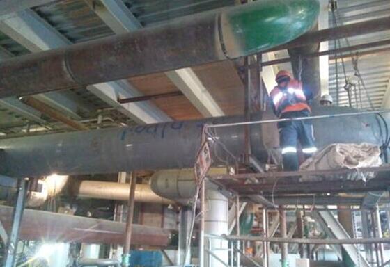 室内供热蒸汽管道及附属装置安装标准
