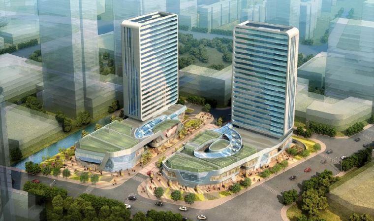 [苏州]高嘉商务广场商业办公建筑规划设计方案文本_1