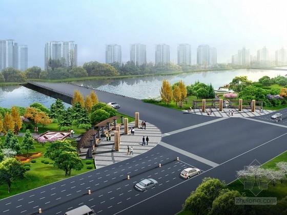[北京]生态文化主题公路西侧景观设计方案