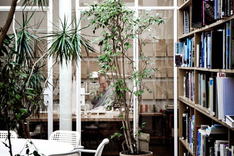 建筑师给自己设计的办公室,什么样的都有_35