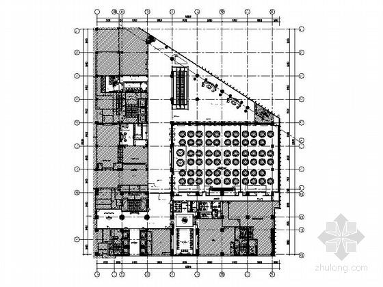 [云南]豪华五星级酒店高档宴会厅装修施工图(含效果)