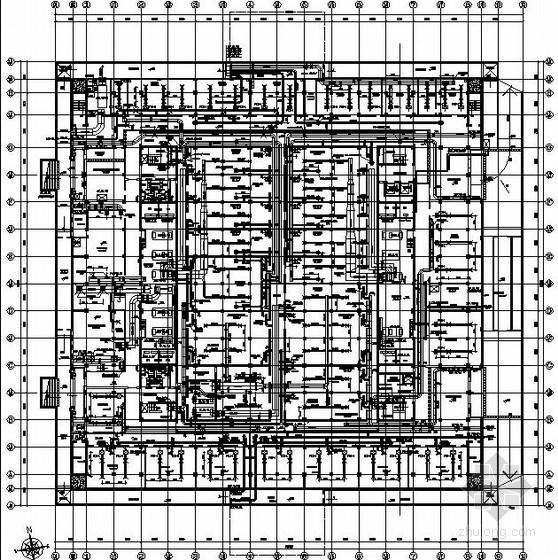 [宁夏]博物馆暖通空调设计施工图