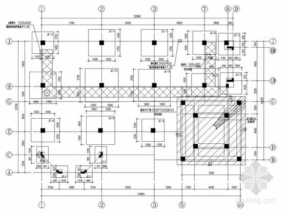 [黑龙江]三层框架结构欧式会所结构施工图