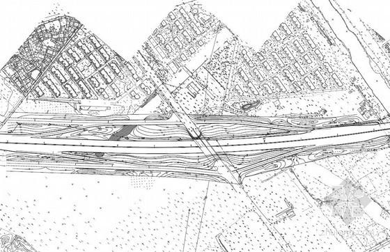 南京某公路城市化改造试验段景观绿化施工图