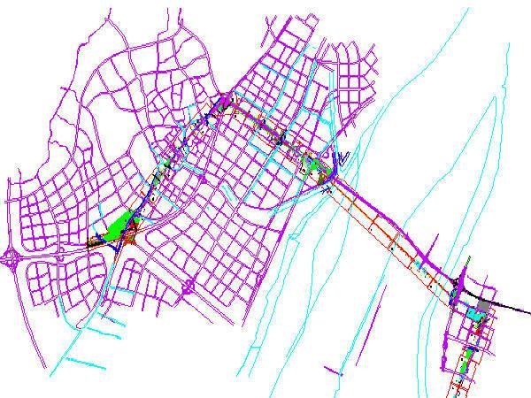 南京地铁13号线工程总体方案设计512页附184张CAD