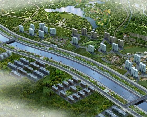 [广州]某路河涌片区污水处理工程造价指标分析