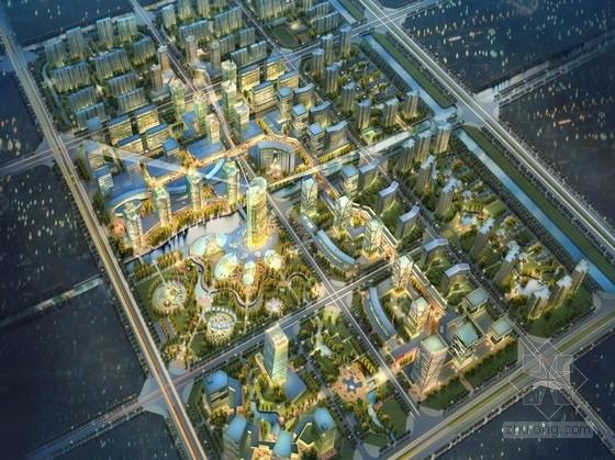 [江苏]现代风格城市综合体及单体设计方案文本(知名设计院)