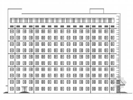 [河北]13层现代风格县级人民医院建筑设计施工图
