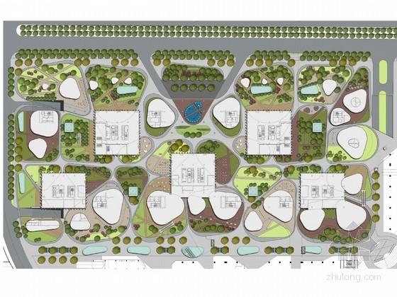 [南京]综合商业社区景观规划设计方案(著名建筑公司)