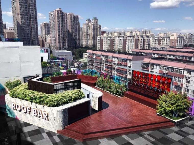 北京龙湖西宸广场屋顶花园