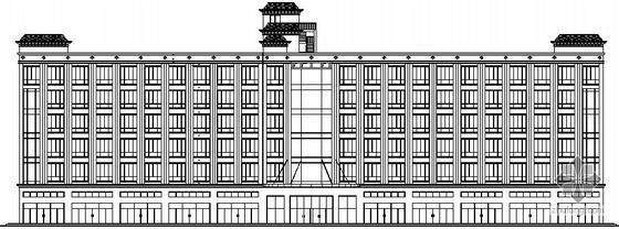 某六层酒店设计方案建筑施工图图
