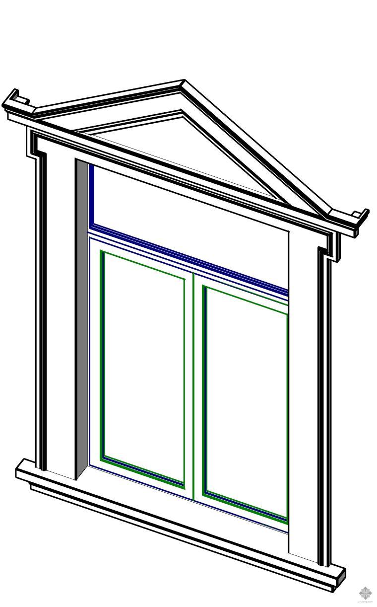 欧式窗套窗