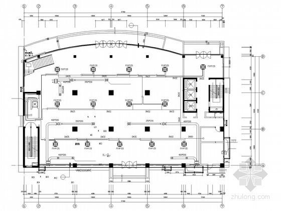 [安徽]新技术生产楼建筑空调系统设计施工图(一拖多智能系统)