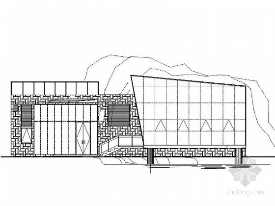 [四川]200平米小型茶室建筑设计施工图纸