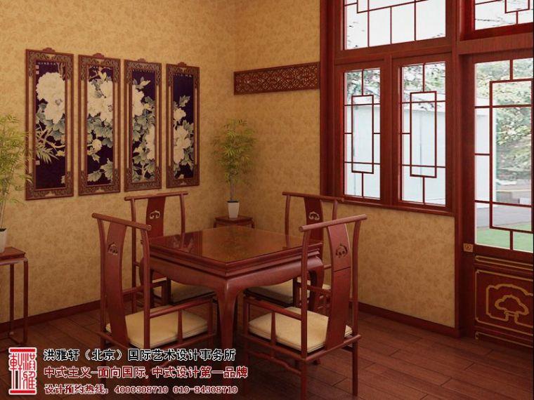 山西太原办公室中式装修,古朴典雅时尚风情_3