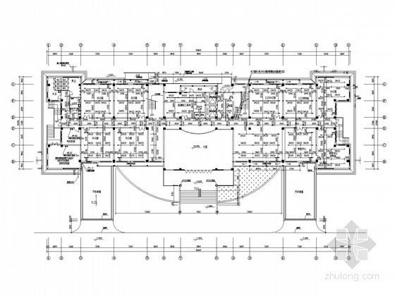 七层环保大楼给排水及消防水喷雾灭火系统施工图(含机房设计)