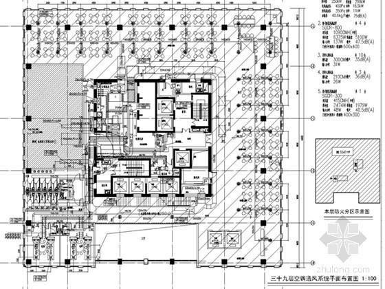 [上海]超高层商业综合体建筑暖通全套设计施工图