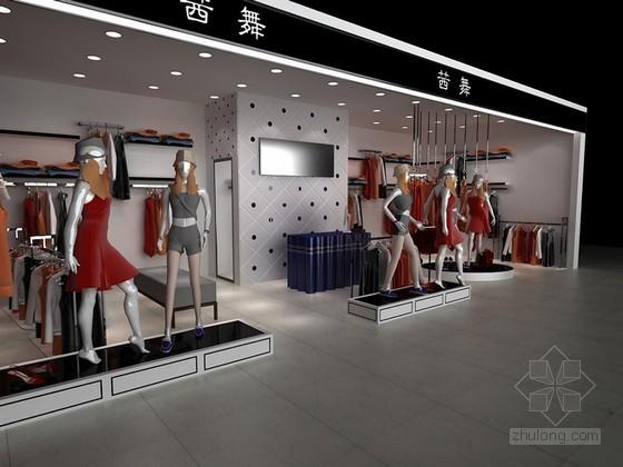 女装专卖店3D模型下载