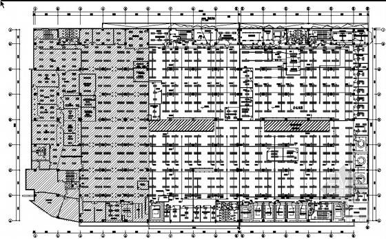 北京某电子厂房电气平面图