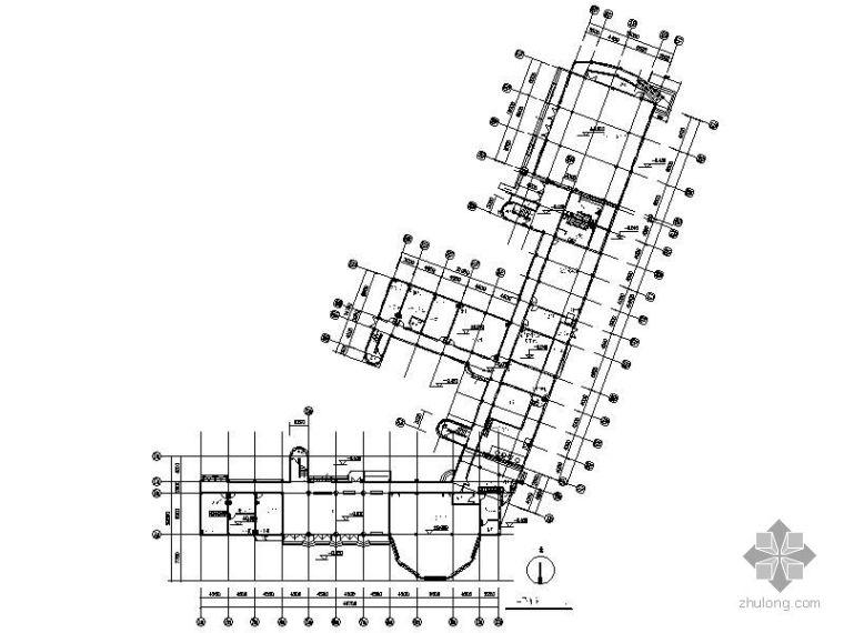 [上海]某中学校舍修缮工程图(装饰及水电)