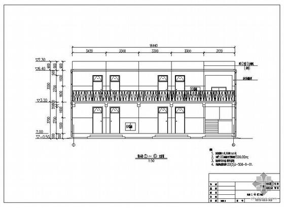 某变电站综合楼建筑结构图