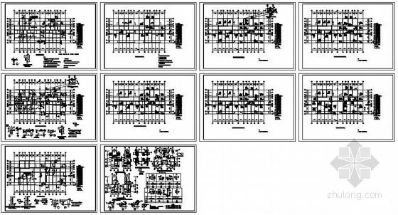 某框架住宅平法施工图