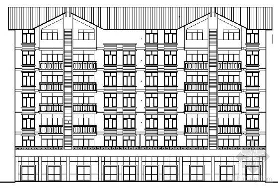 宜宾某小区3、4号住宅楼建筑结构施工图