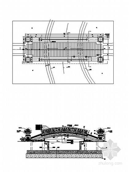 欧式拱桥施工图