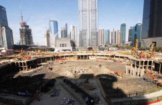 紧邻地铁车站超高层建筑基坑逆作法对地下结构变形影响的研究72页(硕士)
