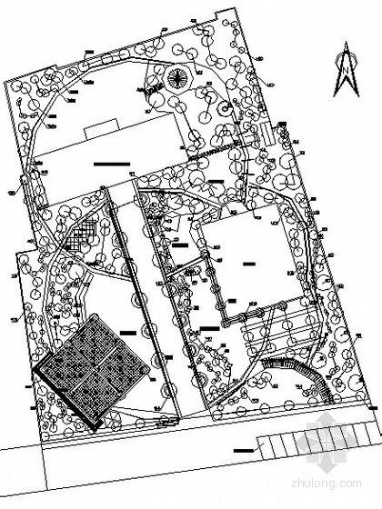 [杭州]老年活动中心景观设计施工图