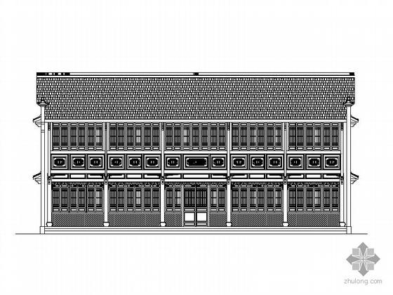 [杭州]某城北体育公园厂房改造建筑方案图