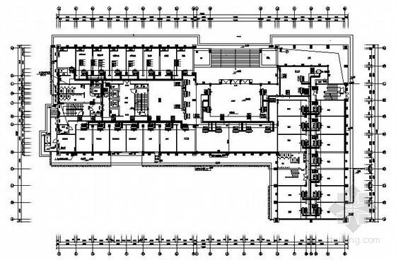 [湖南]高层办公楼中央空调通风设计施工图