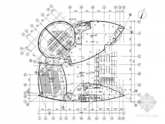 [上海]大型博物馆全套电气施工图纸(含水暖电设计说明)