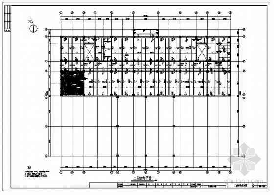 某区政府框架办公楼结构设计图