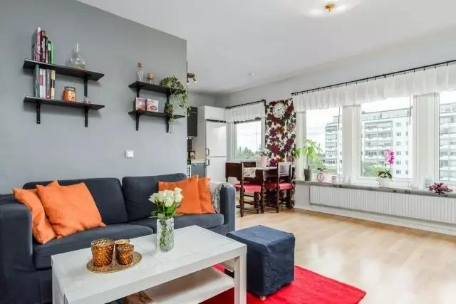 家居中颜色搭配的好 使的整个家居亮起来!
