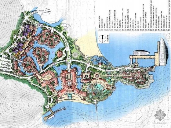 滨水度假村景观设计方案