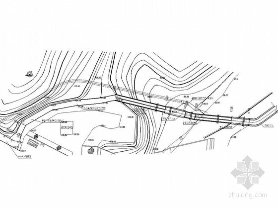 [湖南]小(一)型水库溢洪道工程施工图