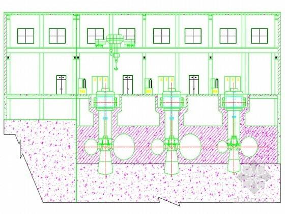 水电站厂房结构设计节点详图