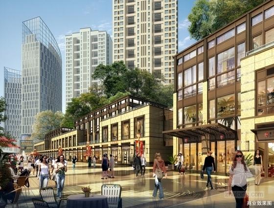 可持续发展住宅区效果图