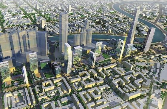 [天津]滨河现代风格城市空间规划设计方案文本(知名事务所)