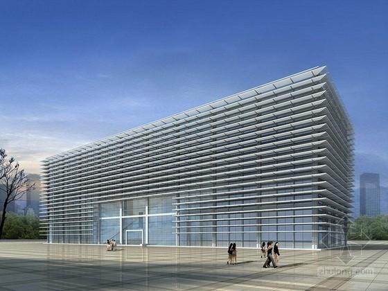 综合楼建筑3d模型下载