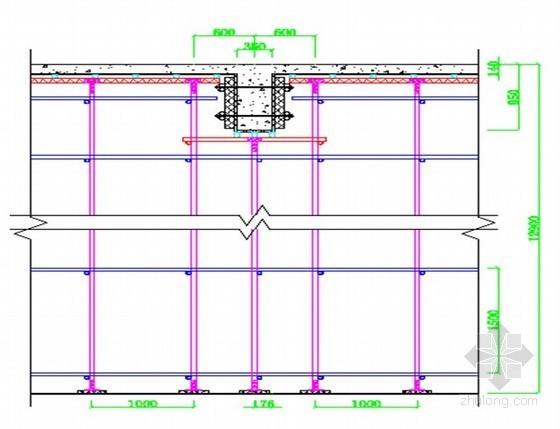 [湖北]醫院高大模板支撐專項施工方案(12.9m,計算書詳細)